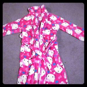 Hello Kitty girls fleece robe